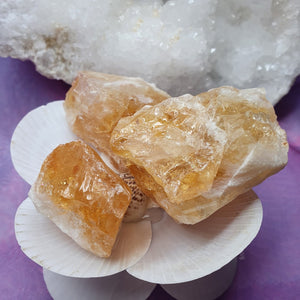 Citrine Raw Crystals | Carpe Diem with Remi