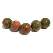 Sphere Crystal 3 cm | Unakite | Carpe Diem With Remi