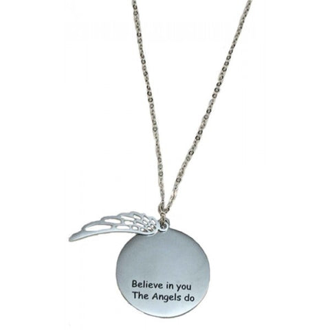 Necklace Believe In You, The Angels Do | Carpe Diem With Remi