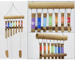 Windchime | Bamboo | Chakra | Carpe Diem with Remi