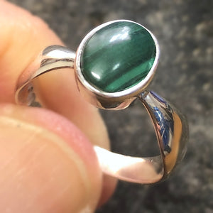 Ring Malachite Size 8 | Carpe Diem with Remi
