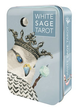 White Sage Tarot Tin | Carpe Diem With Remi