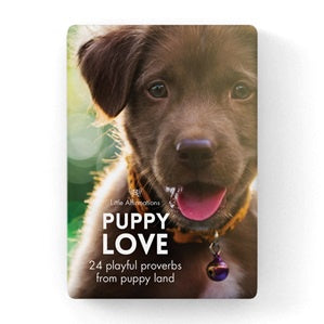 Puppy | Love | Affirmation Cards | Carpe Diem with Remi
