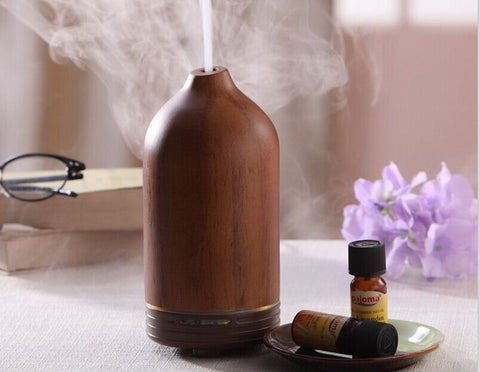 Aroma Diffuser Electric 100 ml Woodgrain Look