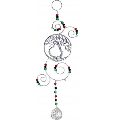Suncatcher Tree of Life with Beads