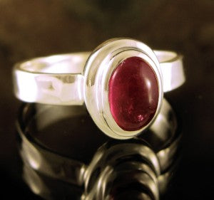 Ring Pink Tourmaline | Size 8.5 | Entia | Carpe Diem with Remi