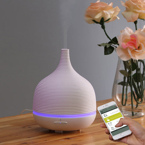 Aroma Humidifier Ceramic White Smart (mobile app control) - Carpe Diem With Remi