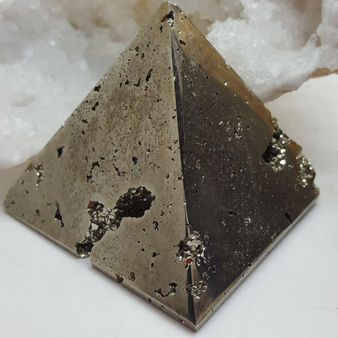 Pyramid Pyrite Large | Carpe Diem with Remi