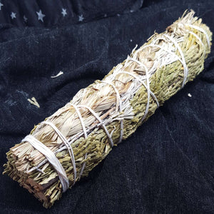 Cedar and Sweetgrass Smudge Stick | Carpe Diem with Remi