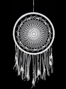 Dream Catcher Crochet White