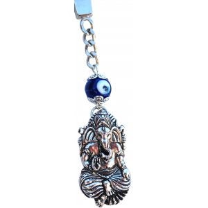 Key ring, Ganesha, Blue Evil Eye | Carpe Diem with Remi