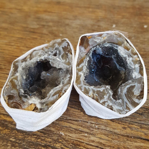 Agate | Friendship | Cave | Pair Crystallized | Carpe Diem with Remi