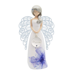 Figurine Angel Happiness Floral | Carpe Diem With Remi