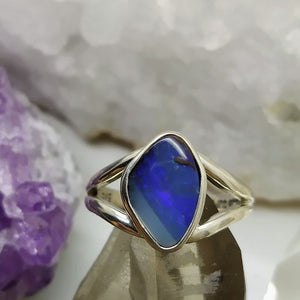 Ring Boulder Opal Size 8 Queensland | Carpe Diem with Remi