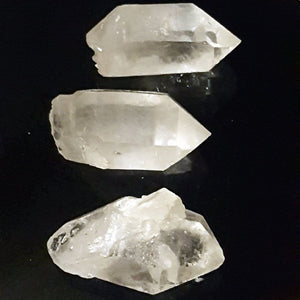 Clear Quartz | Double Terminated Points  | Carpe Diem with Remi