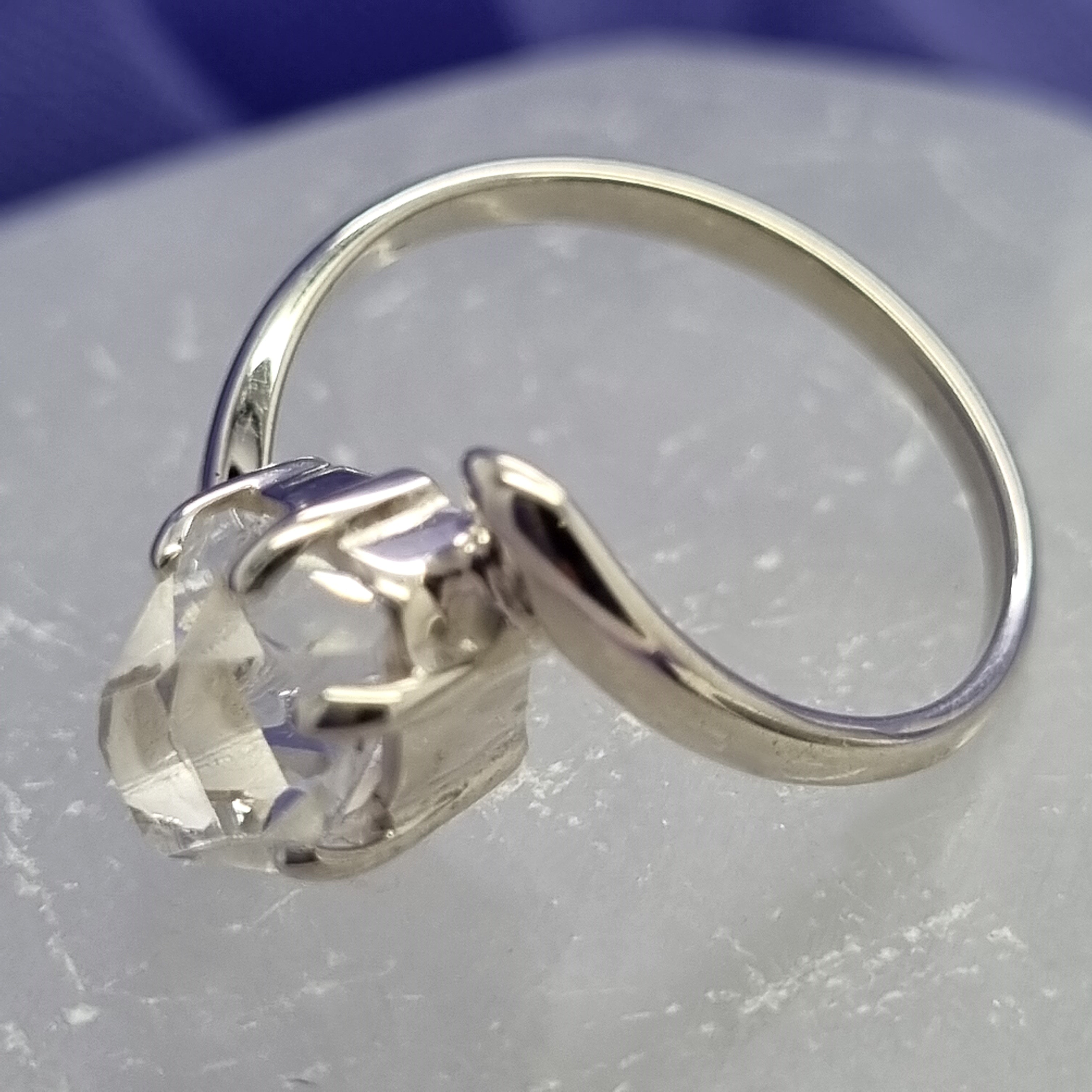 Ring Herkimer Diamond Size 7 | Carpe Diem With Remi