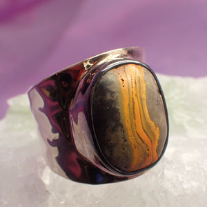 Ring Bumble Bee Jasper | Carpe Diem with Remi