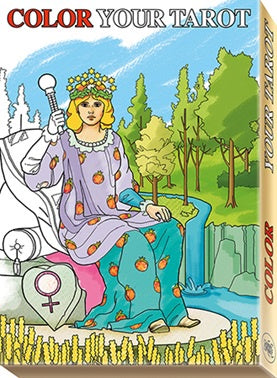 Color Your Tarot Deck | Carpe Diem with Remi