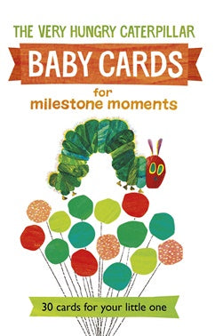 Very Hungry Caterpillar Baby Cards | Carpe Diem With Remi