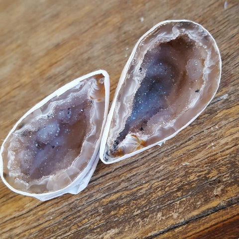 Agate | Friendship Caves | Pair | Carpe Diem with Remi