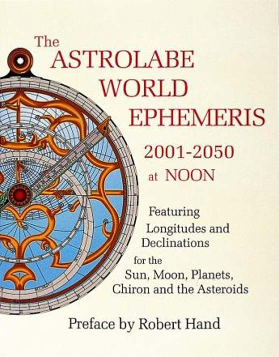 Astrolabe World Ephermeris - Carpe Diem With Remi