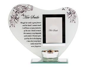 Glass Photo Frame His/Her Smile Variants | Carpe Diem With Remi