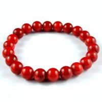 Bracelet Red Coral | Carpe Diem with Remi