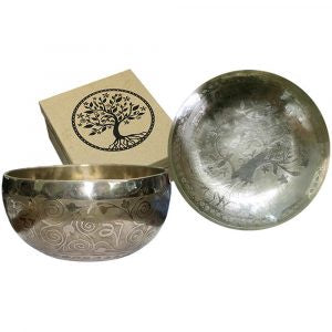 Singing Bowl Tree of Life Tibet