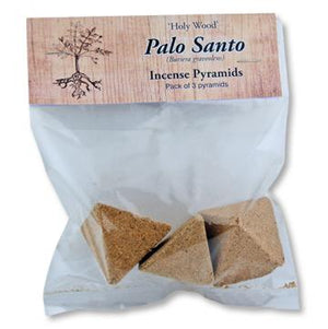 Palo Santo | Incense Cone | Pyramids | Carpe Diem with Remi