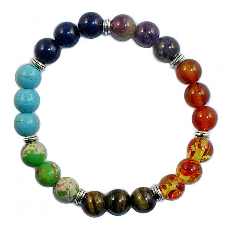 Bracelet Chakra Beads | Carpe Diem With Remi