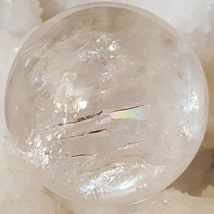 Sphere | Clear Quartz | 4.5 cm | Carpe Diem with Remi