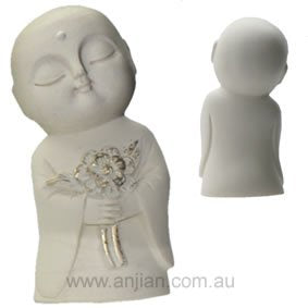 Jizo Holding Flowers Small | Carpe Diem with Remi