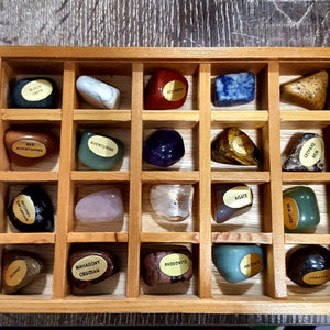 Tumbled Stone | Box of 20 | Assorted | Carpe Diem with Remi