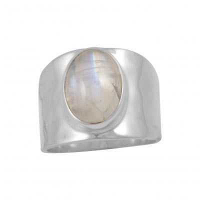 Ring Rainbow Moonstone | Carpe Diem With Remi