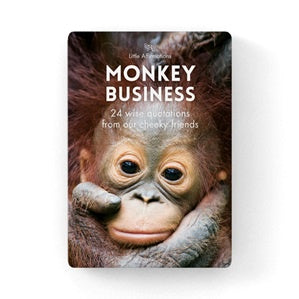 Monkey | Business | Affirmation Cards | Carpe Diem with Remi