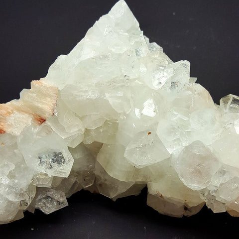 Apophyllite Cluster with Peach | Carpe Diem with Remi