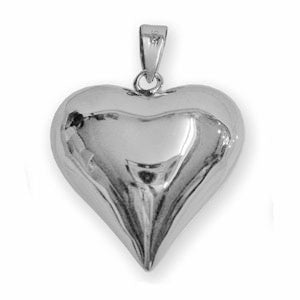 Pendant | Heart | Sterling Silver | Carpe Diem with Remi