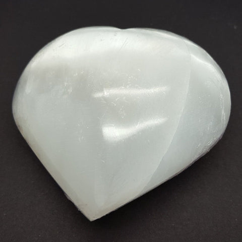Selenite Heart  | Carpe Diem with Remi