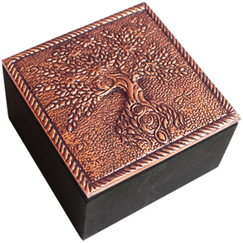 Box | Tree of Life | Copper Finish | Carpe Diem with Remi