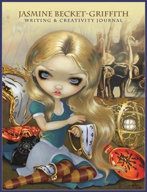 Jasmine Becket-Griffith Writing Journal | Carpe Diem with Remi