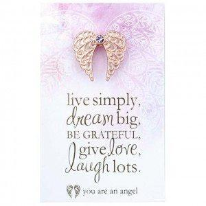 You Are An Angel Pincard – Live Simply, Dream Big. - Carpe Diem With Remi
