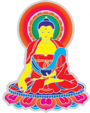 Suncatchers Sticker | Buddha | Carpe Diem With Remi