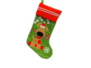 Dog santa stocking christmas bone Christmas dog treats