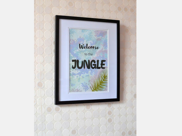 'Welcome to the Jungle' A4 print