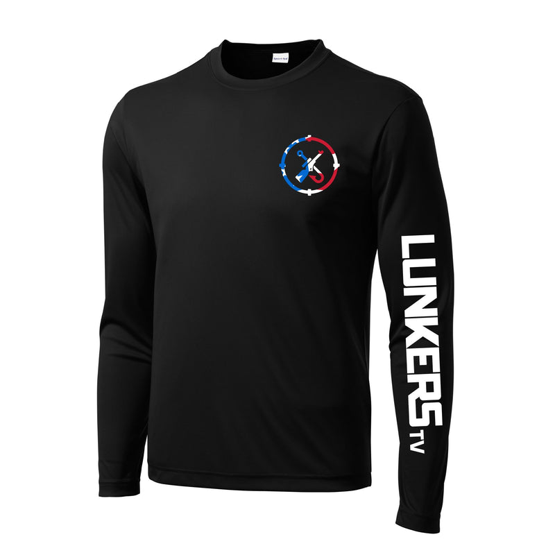 LunkersTV Patriot Performance Long-Sleeve