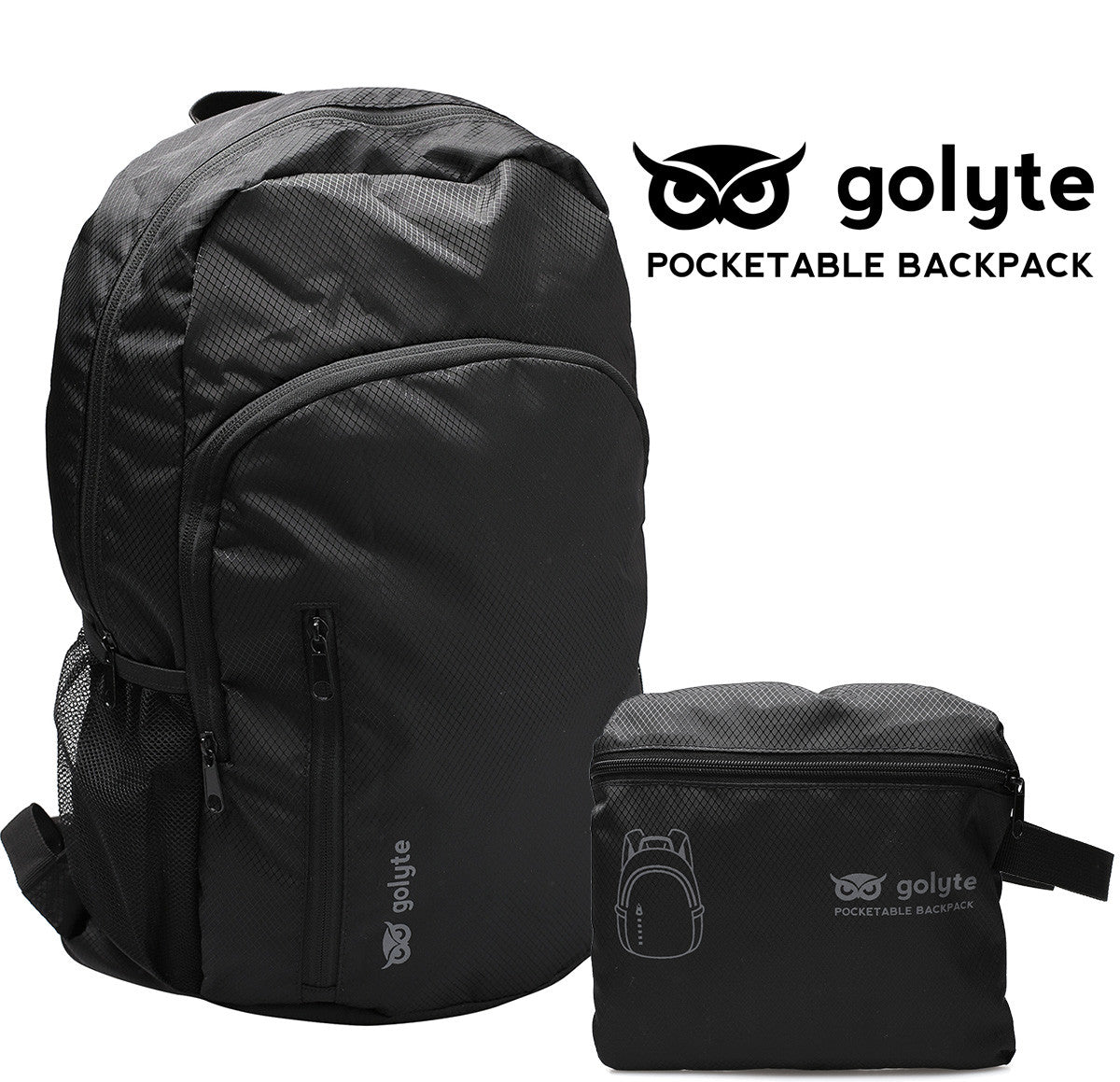 4c484bf67593 ... Golyte Lightweight Packable Travel Hiking Backpack Daypack 20L for Men  Women Adult Boy Girl Teen ...