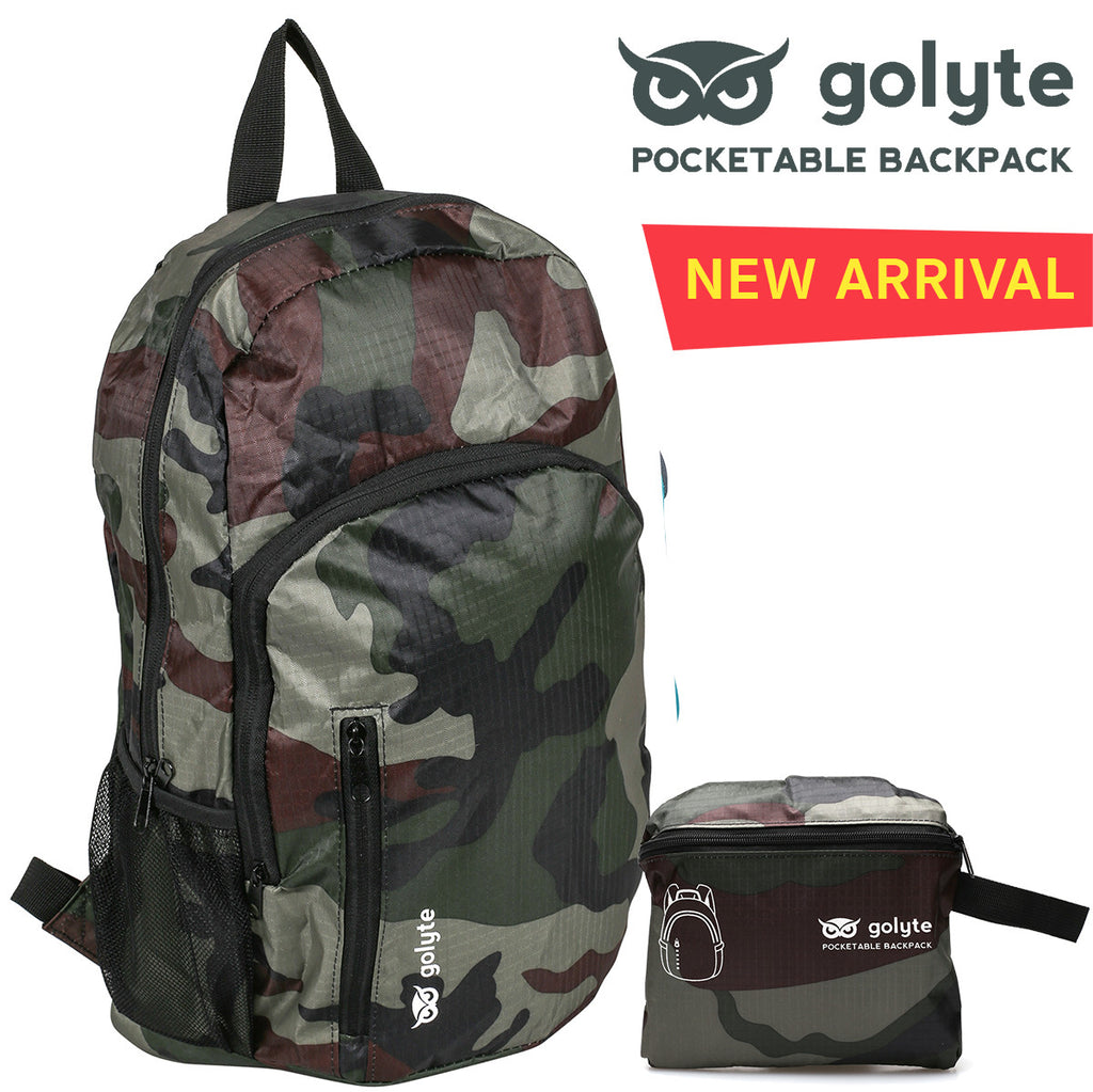 Golyte Lightweight Packable Travel Hiking Backpack Daypack 20L for Men Women Adult Boy Girl Teen