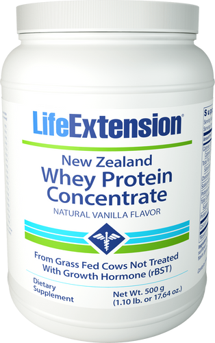 New Zealand Whey Protein Concentrate (Natural Vanilla Flavor) | 500 grams (1.10 lb. or 17.64 oz.)
