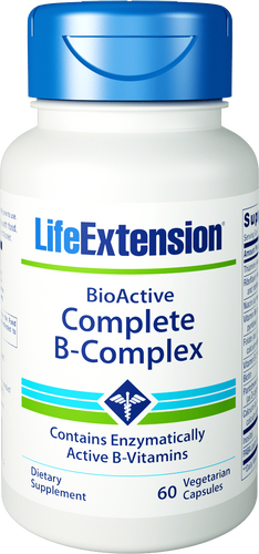 BioActive Complete B-Complex | 60 vegetarian capsules