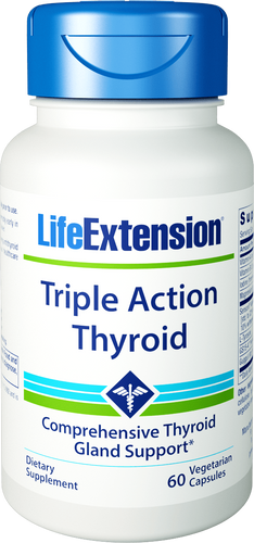 Triple Action Thyroid | 60 vegetarian capsules